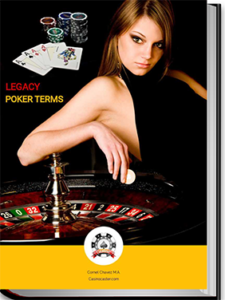 poker terms, online gambling